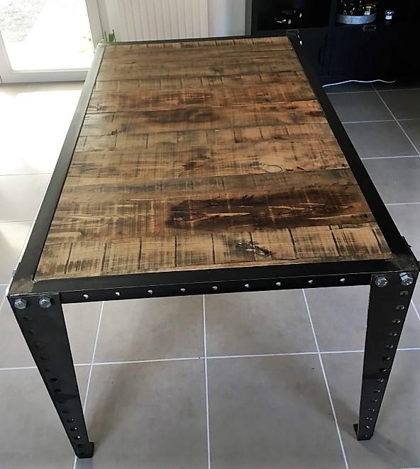Table industrielle mécano